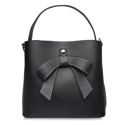 Cheap Casual Shopping Handbag with Letter Print Strap