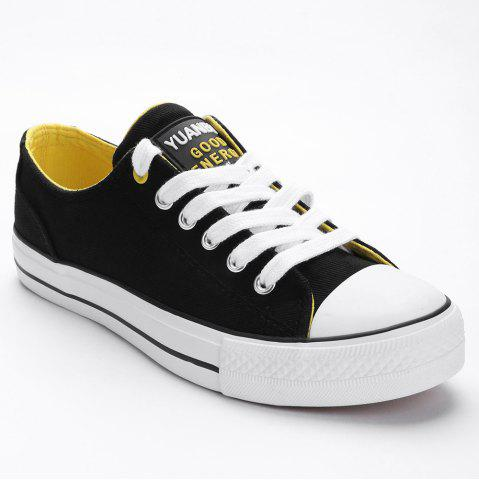 Outfits Lace Up Canvas Skate Shoes