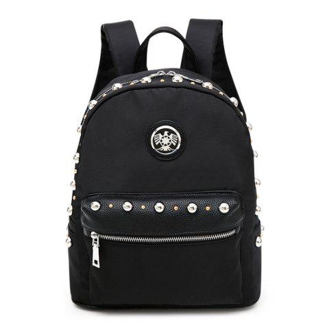Fancy Rivets Punk Backpack