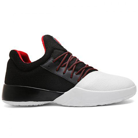 Affordable Color Block Running Baskeball Sneakers