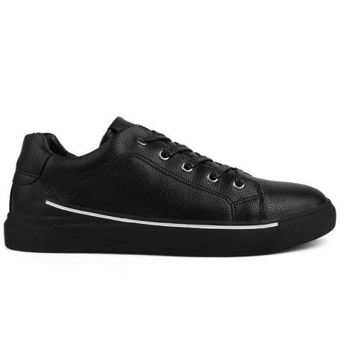 Online Casual Faux Leather Skate Shoes