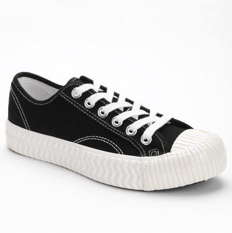 Affordable Canvas Stitching Sneakers