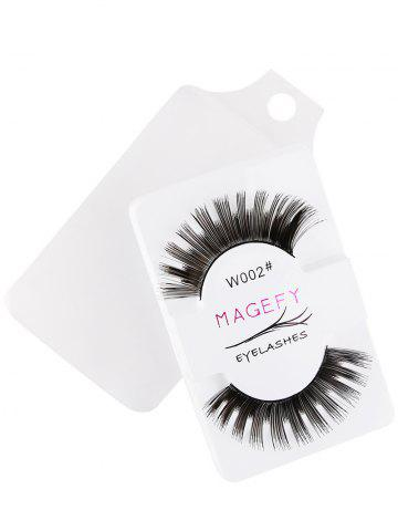 Buy One Pair Thick False Eyelashes Extension Natural Makeup