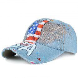 Unique Victory Gesture Pattern Hand Drawing Baseball Cap -