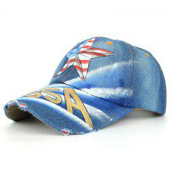 Unique Hand Drawing Star Pattern Baseball Hat -