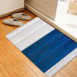 Wood Flooring Pattern Anti-skid Living Room Area Rug -