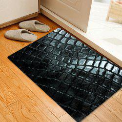 Cobblestone Pattern Water Absorption Area Rug -