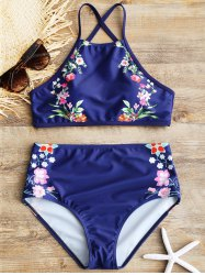 High Rise Floral Bathing Suit -