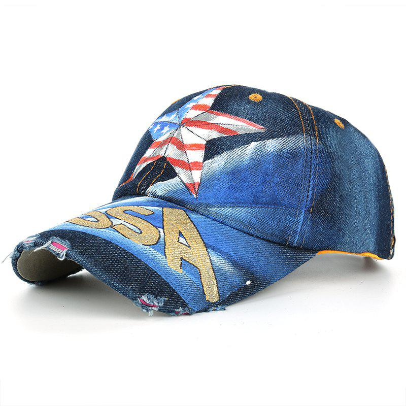 Store Unique Hand Drawing Star Pattern Baseball Hat