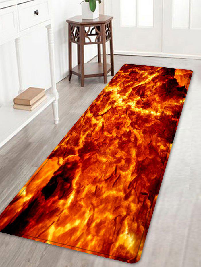 Store Lava Pattern Water Absorption Area Rug