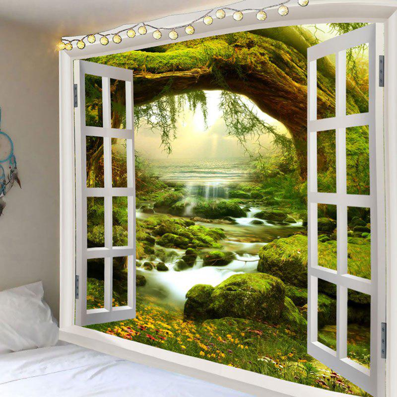 Sale Fairyland Tree Stream Print Wall HangingTapestry