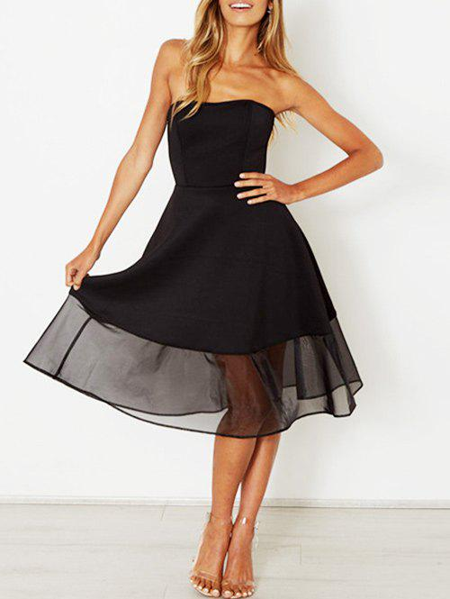 Discount Strapless A Line Party Dress