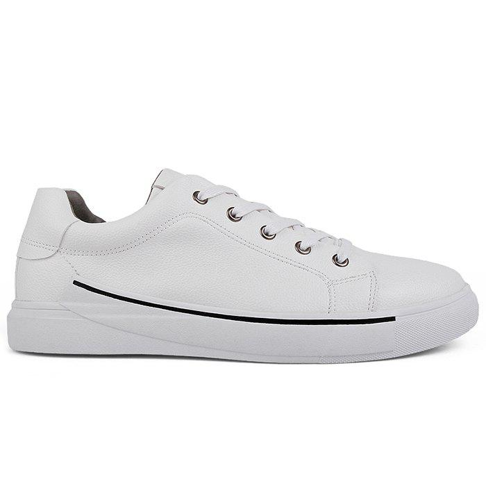 Fancy Casual Faux Leather Skate Shoes