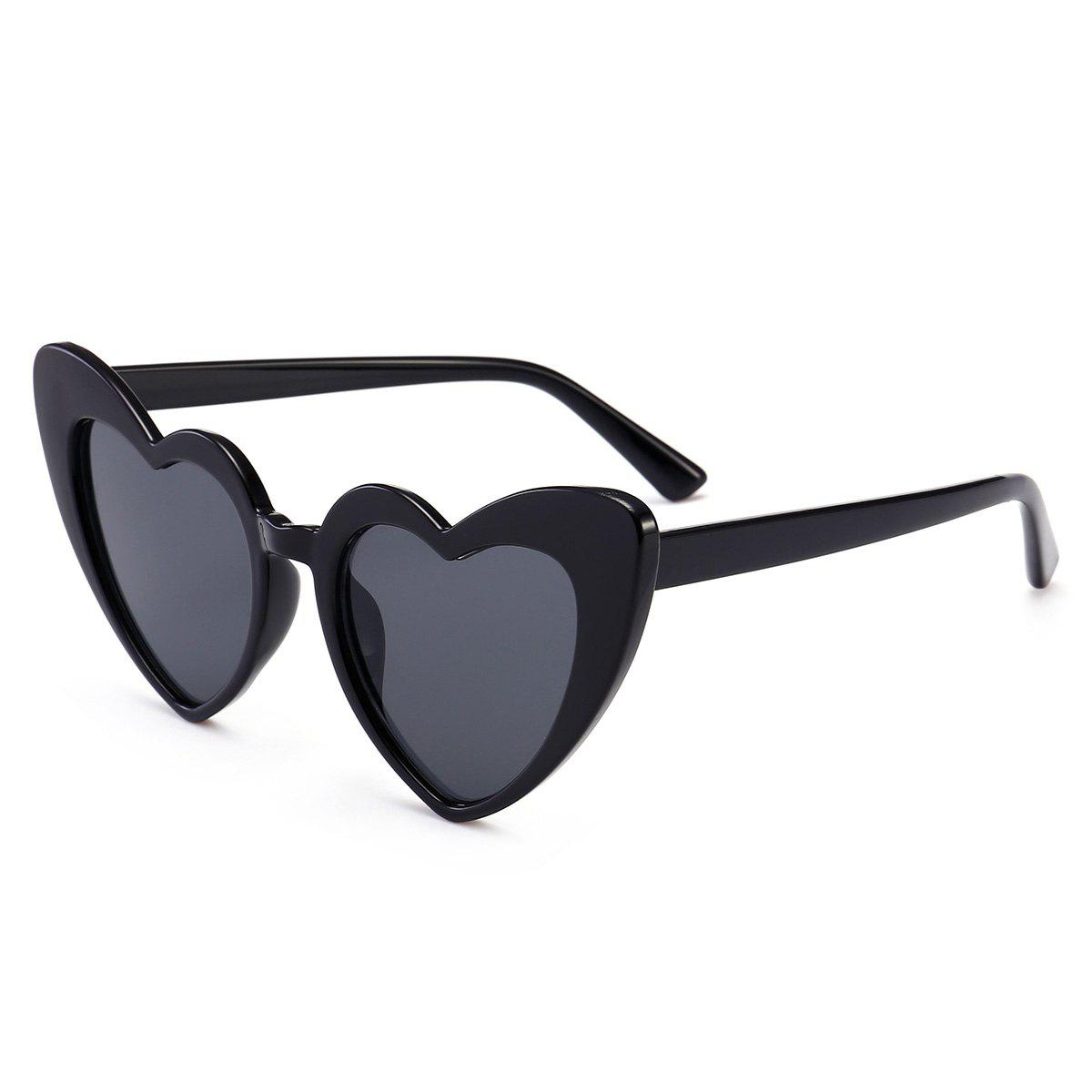 New Full Frame Heart Shape Sunglasses