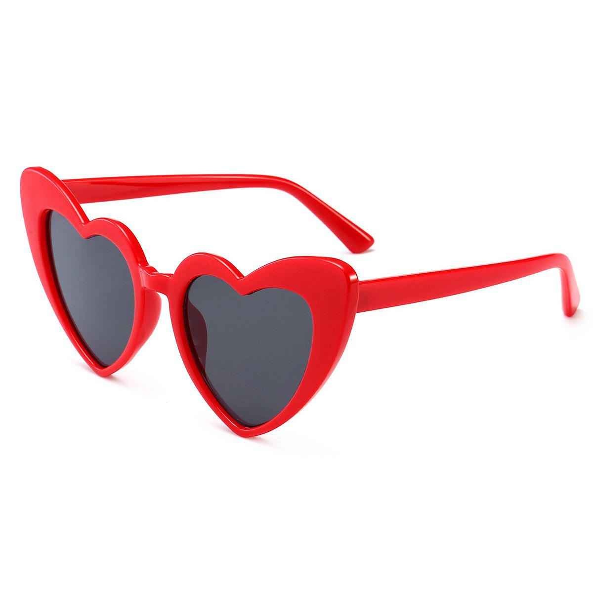 Discount Full Frame Heart Shape Sunglasses