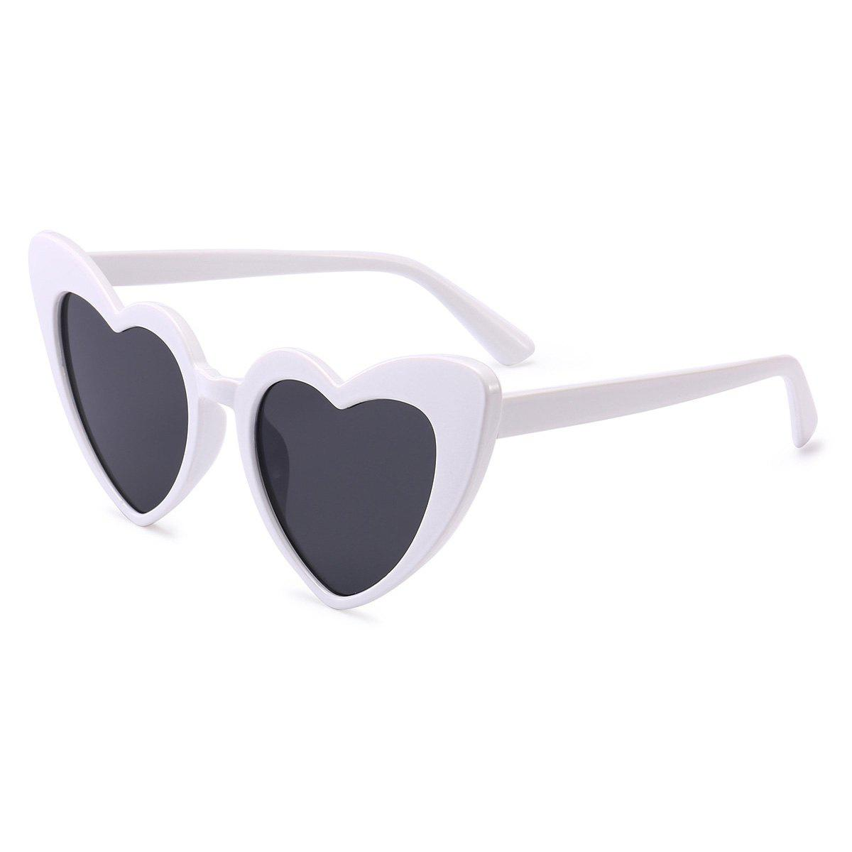 Shop Full Frame Heart Shape Sunglasses