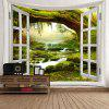 Fairyland Tree Stream Print Wall HangingTapestry -