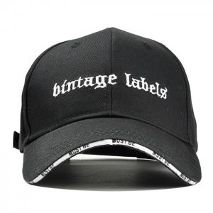 Letter Embroidery Adjustable Graphic Hat -
