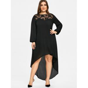 Plus Size High Low Maxi Party Dress -