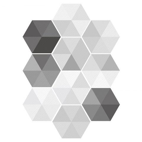 Online Hexagon Wall Art Stickers Set