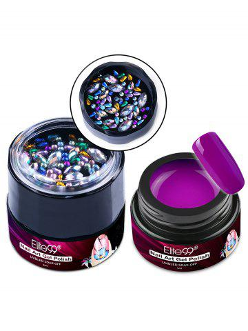 Outfit 5ML Multifunctional Nail Art DIY Painting Gel Polish with Diamond