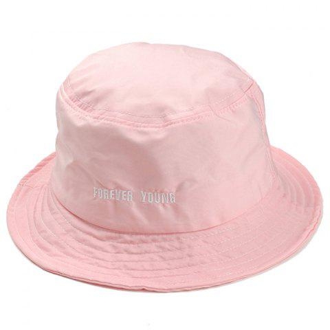 Latest Unique Forever Young Embroidery Bucket Hat
