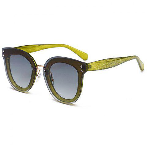Store Unique Full Frame Nose Pad Oversized Sunglasses