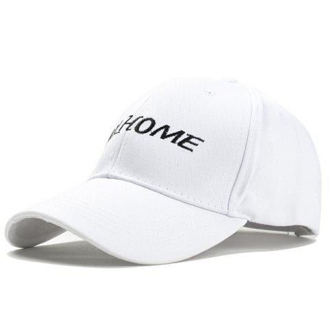 Chapeau de base-ball broderie motif lettre simple