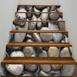 Cobblestones Printed Decorative Stair Stickers -