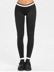 Contrast Workout Leggings -