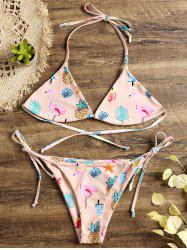 Flamingo Hawaiian Tiny String Bikini -