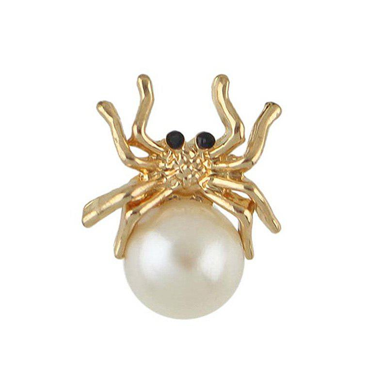 Fancy Metal Tiny Spider Shape Brooch