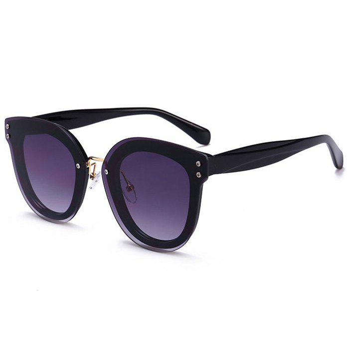Outfit Unique Full Frame Nose Pad Oversized Sunglasses
