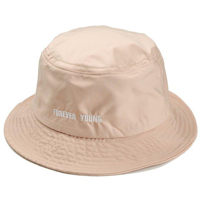 Best Unique Forever Young Embroidery Bucket Hat