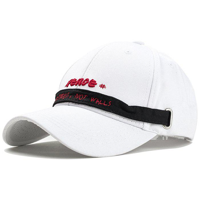 New Unique Letter Embroidery Long Band Baseball Hat