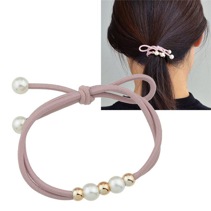 New Cute Multilayered Faux Pearl Elastic Hair Band