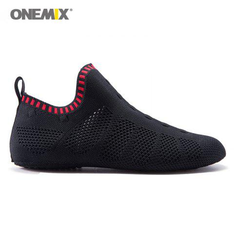 Fancy ONEMIX Slip On Indoor Knit Casual Shoes