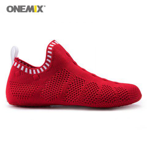 Hot ONEMIX Slip On Indoor Knit Casual Shoes