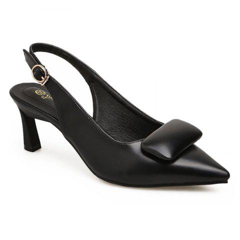 Cheap Upper Padded Slingback Pumps