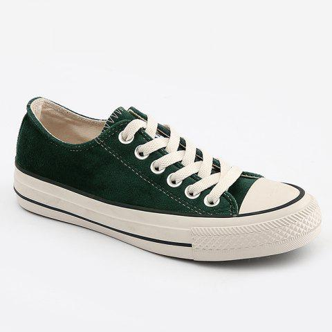 Chic Casual Lace Up Skate Shoes