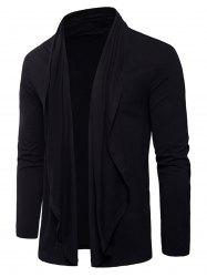 Long Sleeve Open Front Cardigan T-shirt -