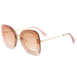 Unique Metal Frame Butterfly Sunglasses -