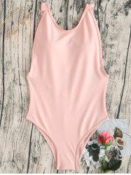 Flounce Thong One Piece Swimsuit -