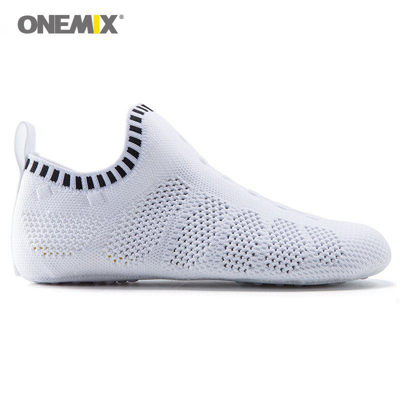 Shops ONEMIX Slip On Indoor Knit Casual Shoes