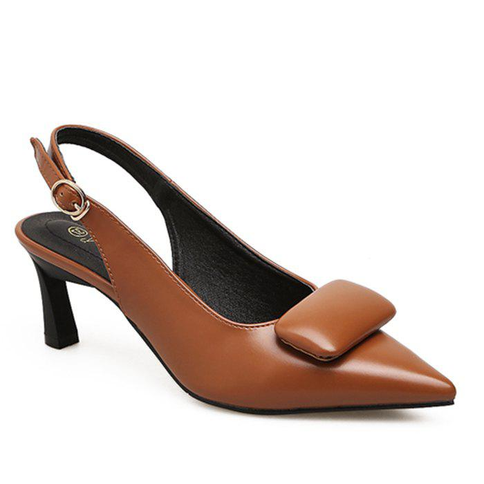 Fashion Upper Padded Slingback Pumps