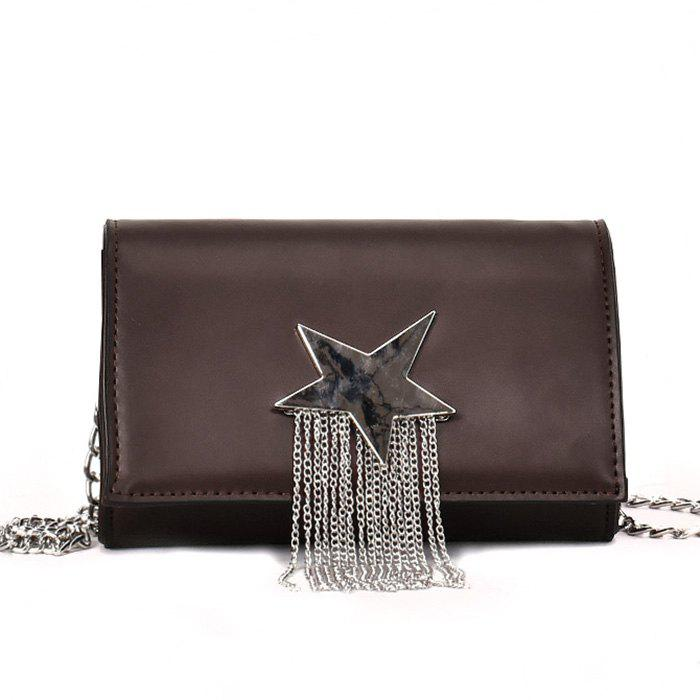 Latest Chain Star Crossbody Bag with Fringes
