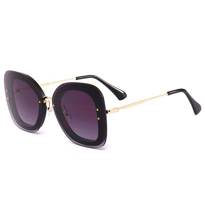 Discount Unique Metal Frame Butterfly Sunglasses