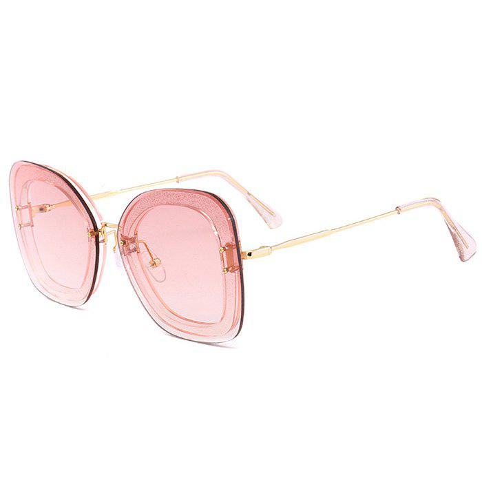 Chic Unique Metal Frame Butterfly Sunglasses