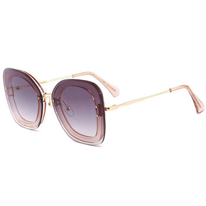 Fashion Unique Metal Frame Butterfly Sunglasses