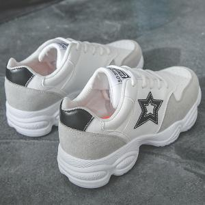 Casual Running Star Patched Sneakers -